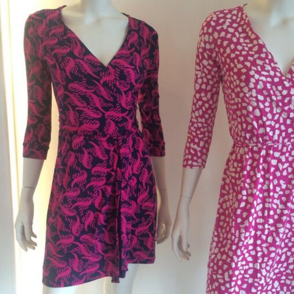 e57337881172 Diane Von Furstenberg Dresses | Dvf New Julian Two Graphic Mini ...